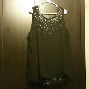 Avenue cocktail dress blouse